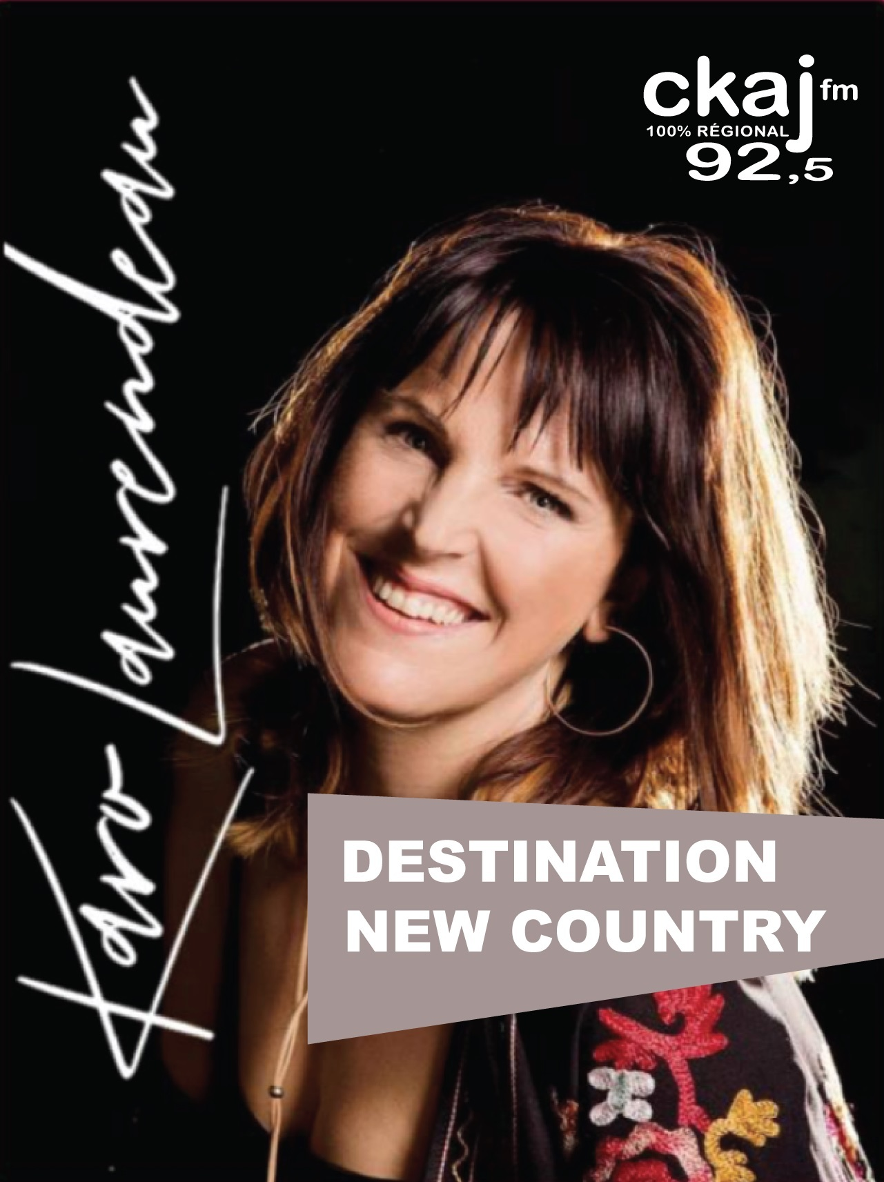 Destination New Country avec Karo Laurendeau