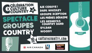 Spectacle Groupes country @ 1909 Taverne Moderne